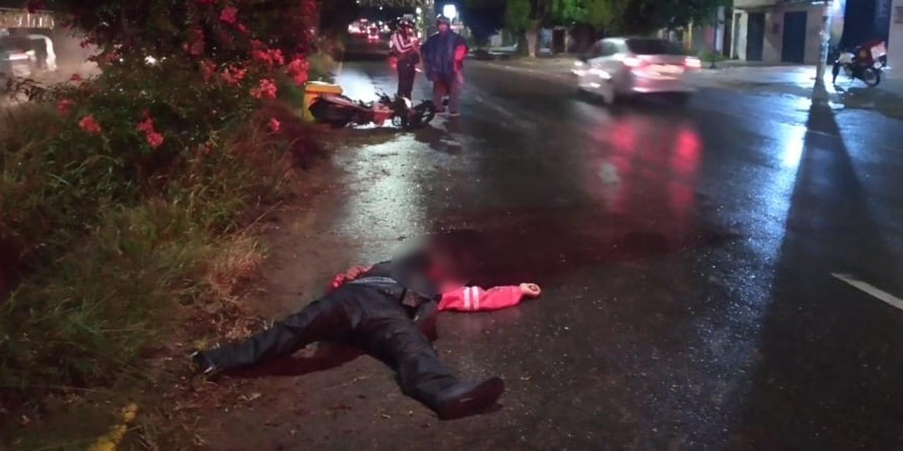 Motociclista muere en accidente en Pueblo Nuevo | El Imparcial de Oaxaca