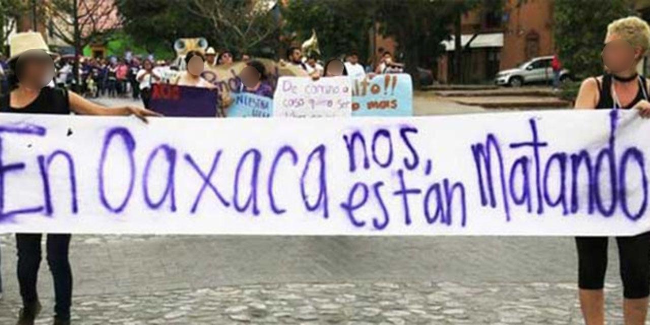 No cesa violencia feminicida en Oaxaca | El Imparcial de Oaxaca