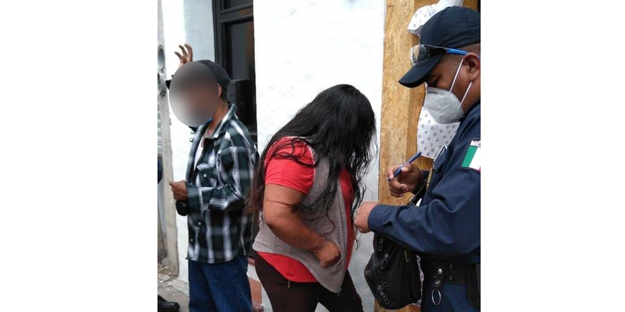 Detienen a presunta ladrona de cuentahabiente en Oaxaca | El Imparcial de Oaxaca