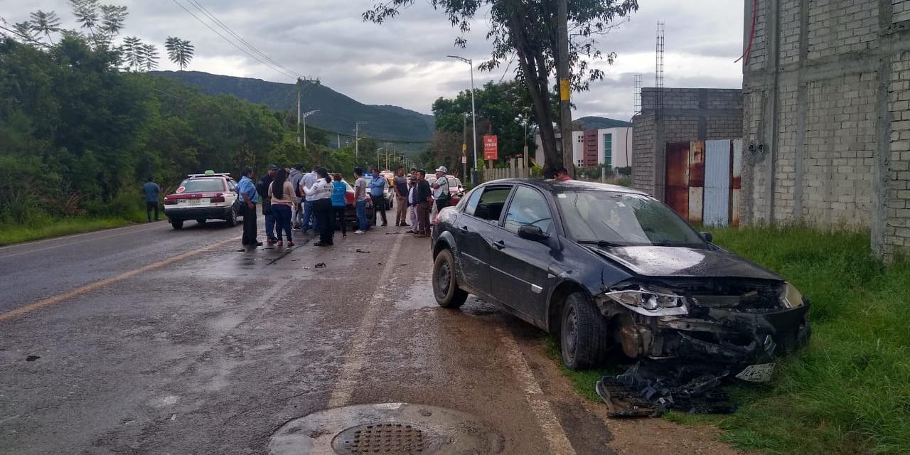 Cadena de accidentes en Oaxaca | El Imparcial de Oaxaca