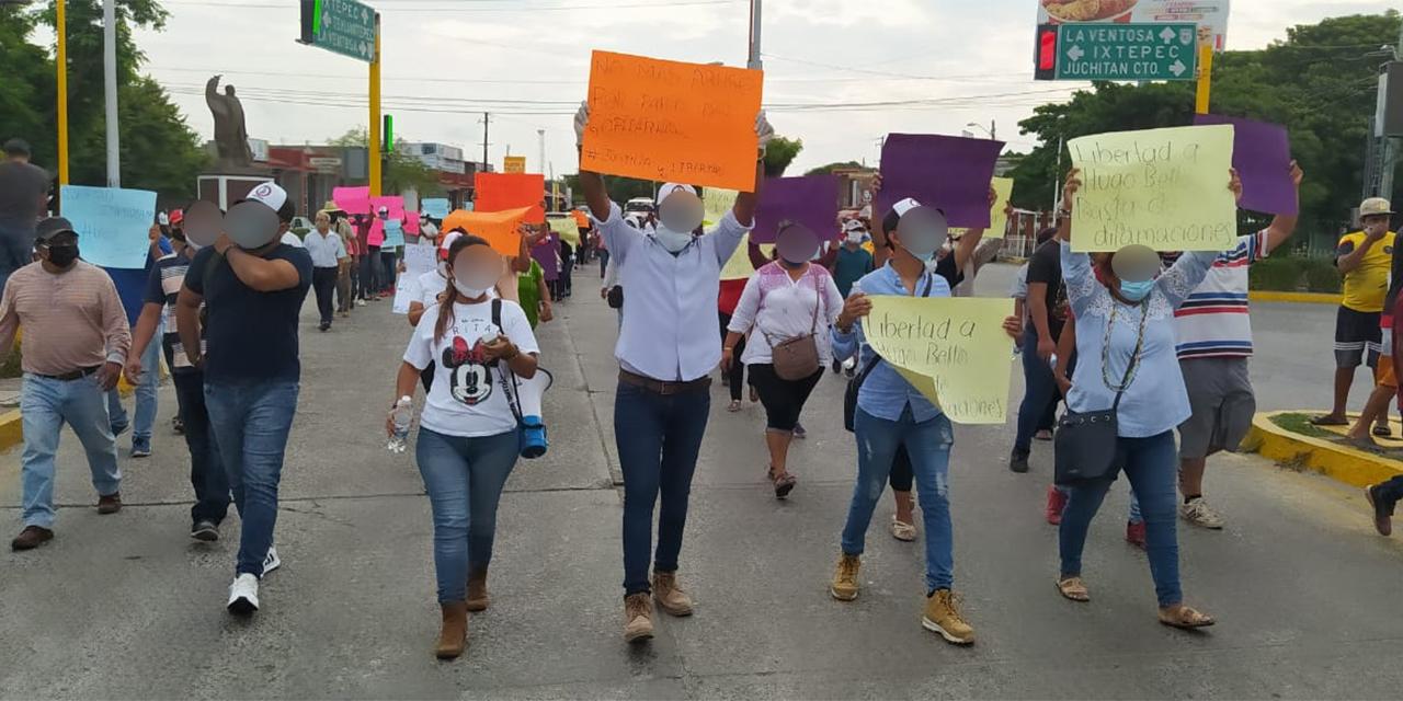 Demandan liberación de dirigente sindical en Juchitán | El Imparcial de Oaxaca