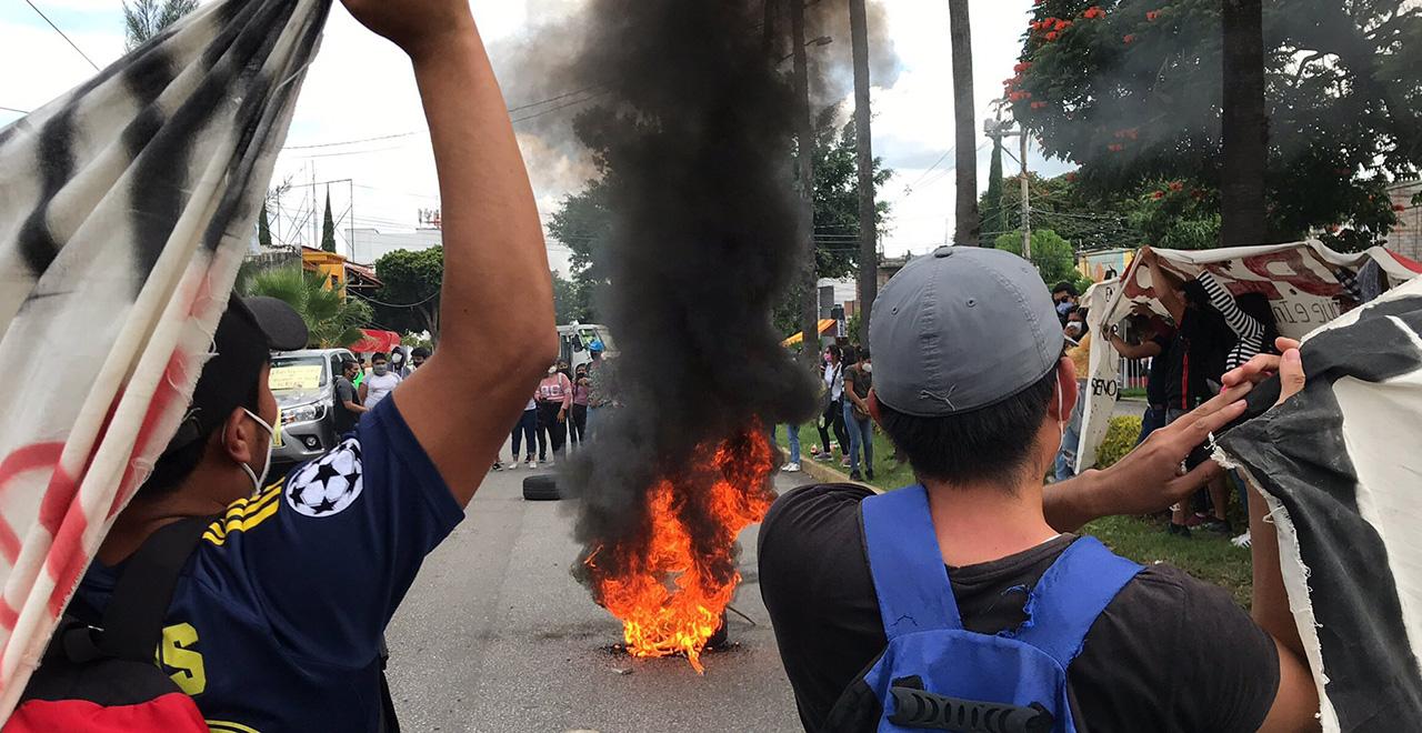 Lidera Director  de CRENO protestas violentas | El Imparcial de Oaxaca