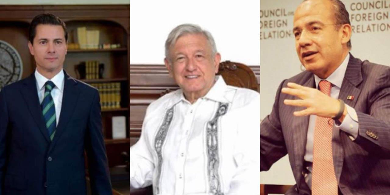 Peña Nieto y Calderón deben ser citados por la FGR por caso Lozoya: AMLO   El Imparcial de Oaxaca