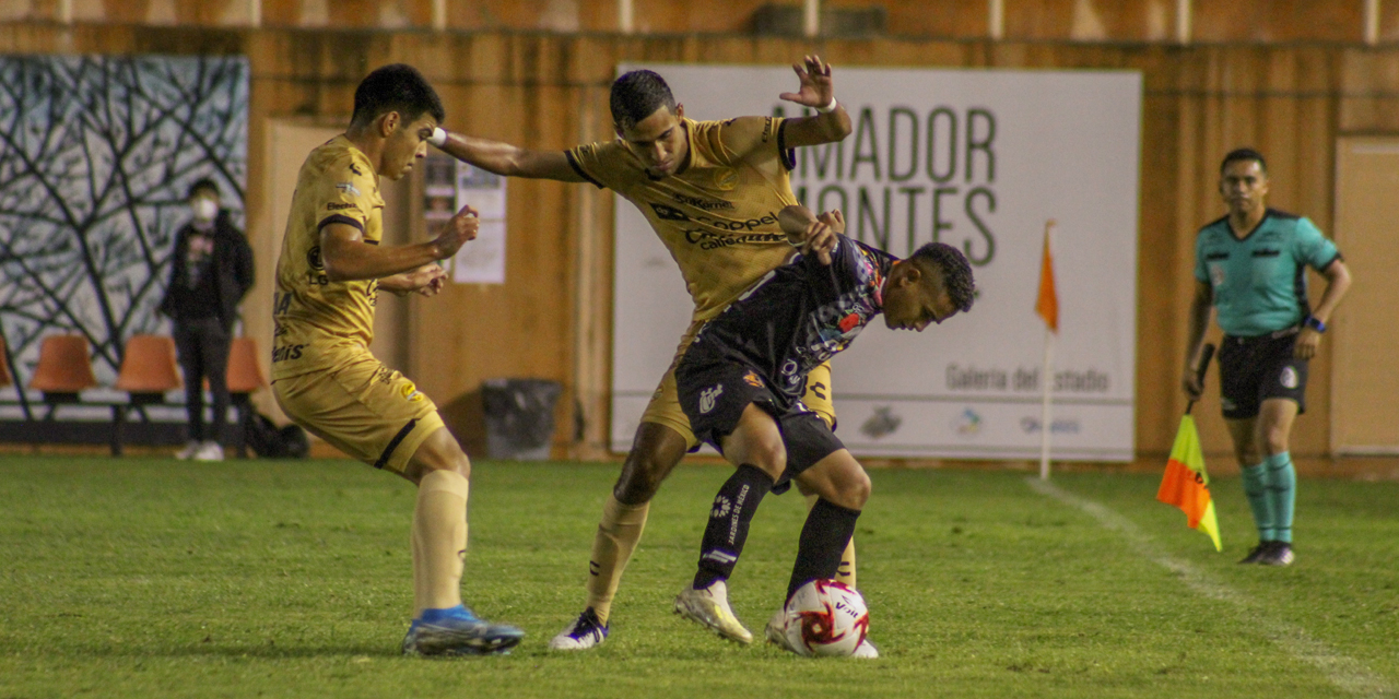 Alebrijes cae frente a Dorados en Torneo Guard1anes | El Imparcial de Oaxaca