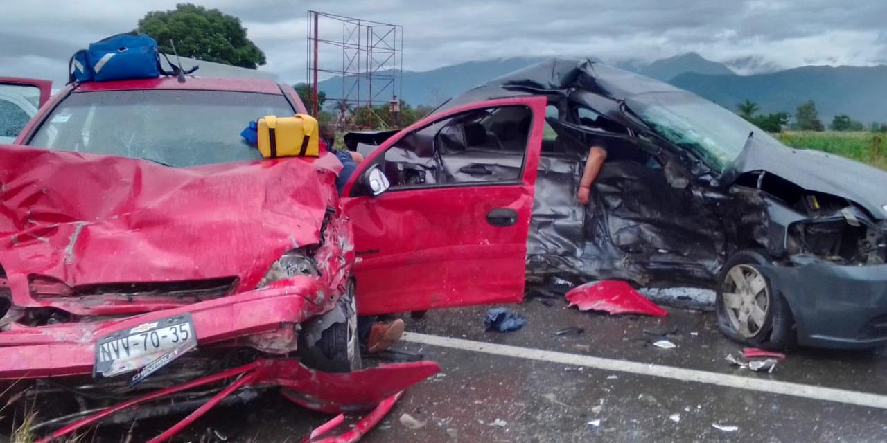 Encontronazo mortal en carretera 190 | El Imparcial de Oaxaca