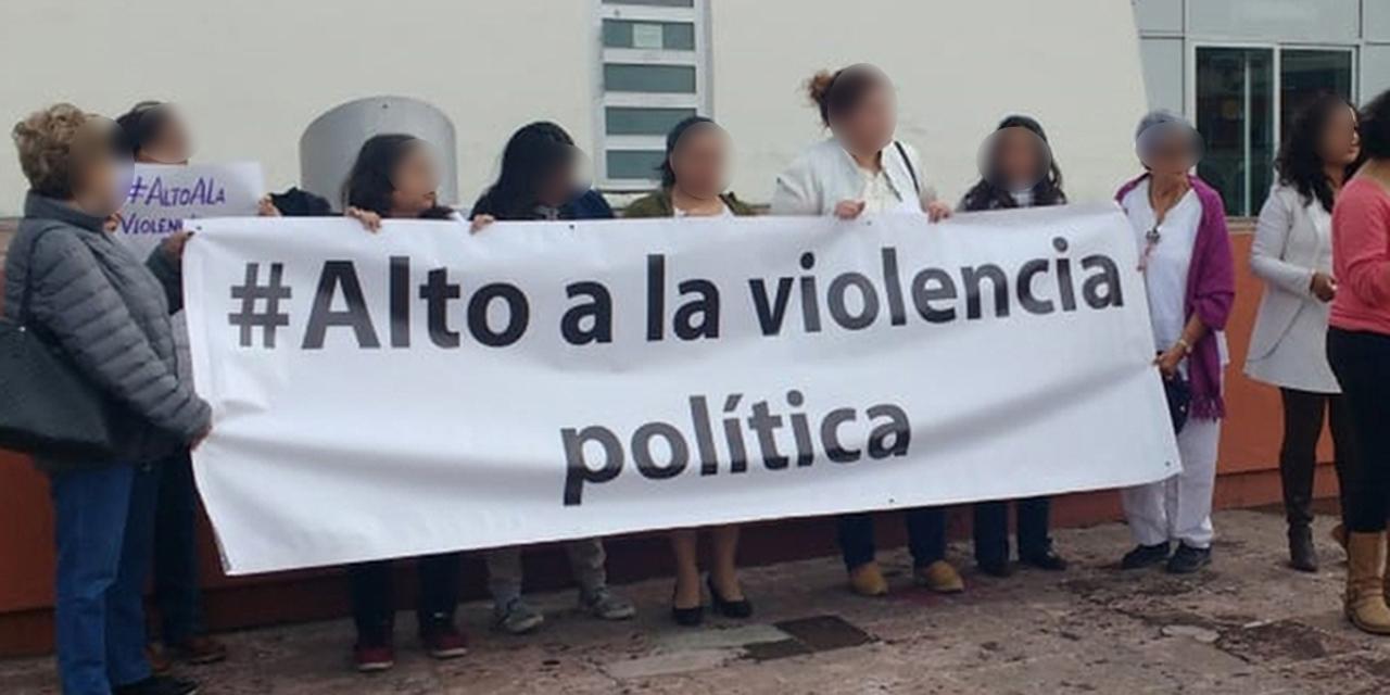 Violencia política de género se mantiene en Oaxaca | El Imparcial de Oaxaca