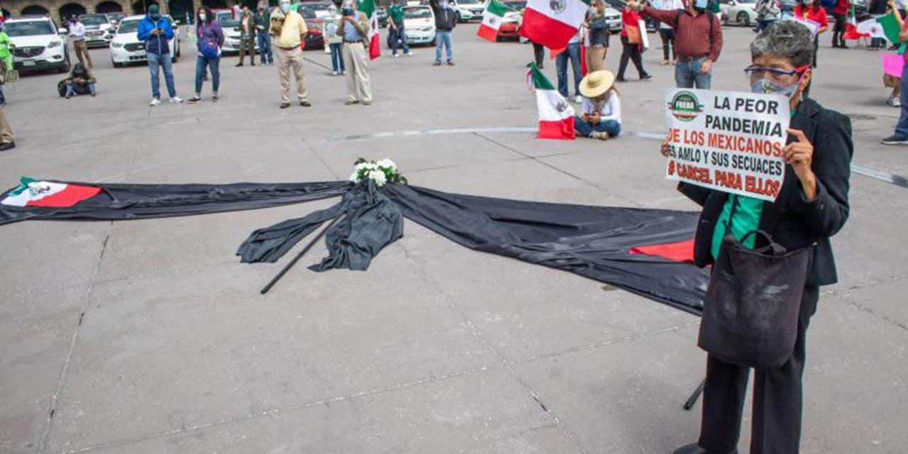 Manifestaciones contra la 4T no supera a los que la apoyan :AMLO | El Imparcial de Oaxaca