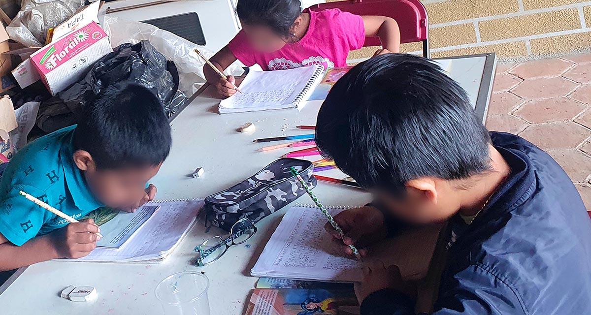 Usan maestros estrategias variadas para educar | El Imparcial de Oaxaca
