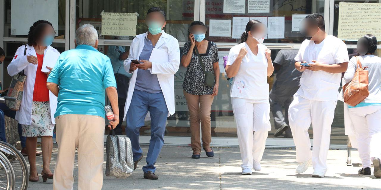 Área Covid-19 del ISSSTE opera al 110% | El Imparcial de Oaxaca