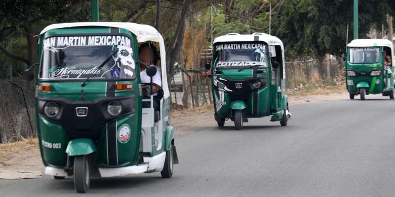 Aseguran 221 mototaxis de Oaxaca por incumplir la ley | El Imparcial de Oaxaca