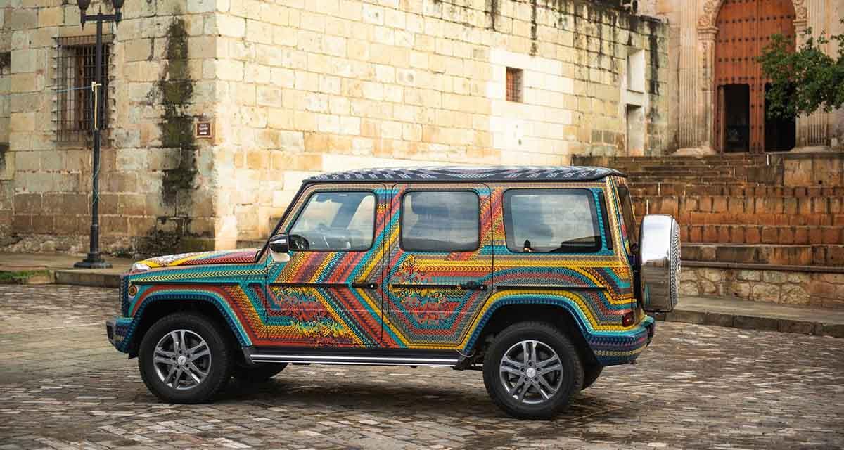 Colabora Mercedes-Benz con el Taller Jacobo & Maria Angeles y se pinta de alebrije | El Imparcial de Oaxaca