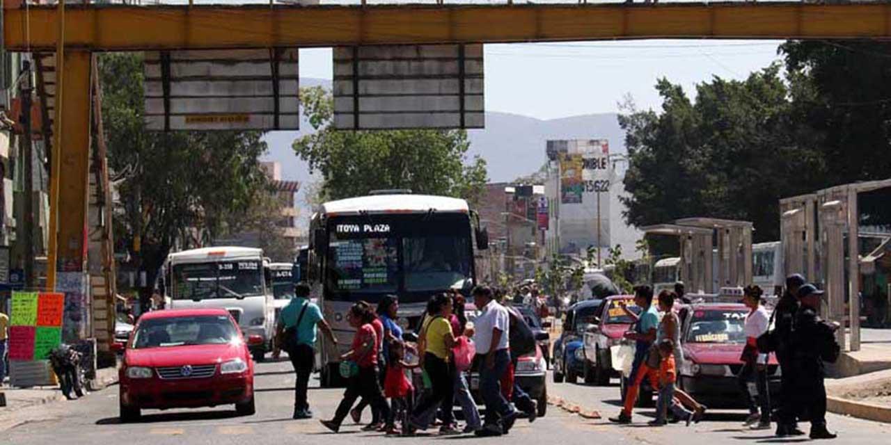 Persisten problemas de movilidad en la ciudad de Oaxaca | El Imparcial de Oaxaca