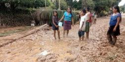 Claman ayuda habitantes de Santiago Jocotepec, Oaxaca