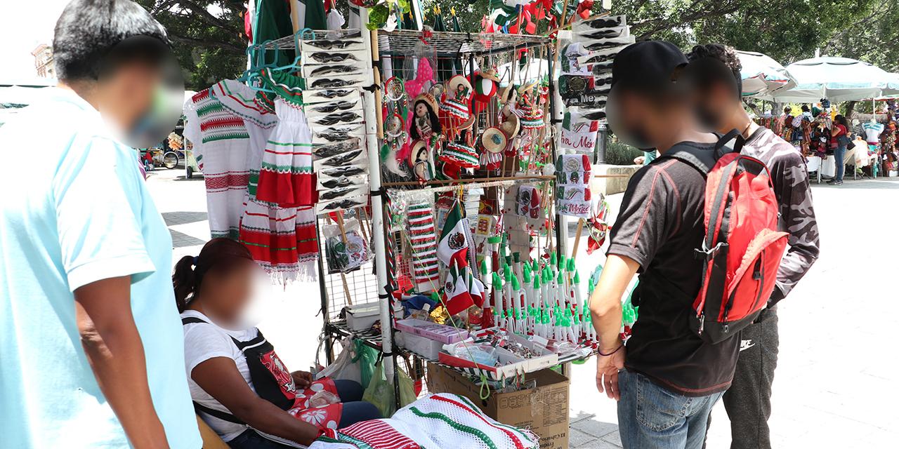 Pandemia causa desplome de ventas en el mes patrio | El Imparcial de Oaxaca