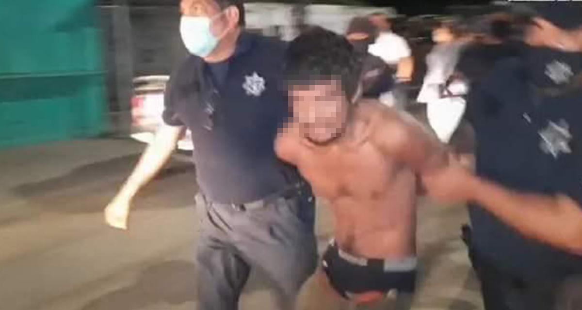 Video: A punto de ser linchado individuo que intentó violar a menor en Salinas del Marqués | El Imparcial de Oaxaca