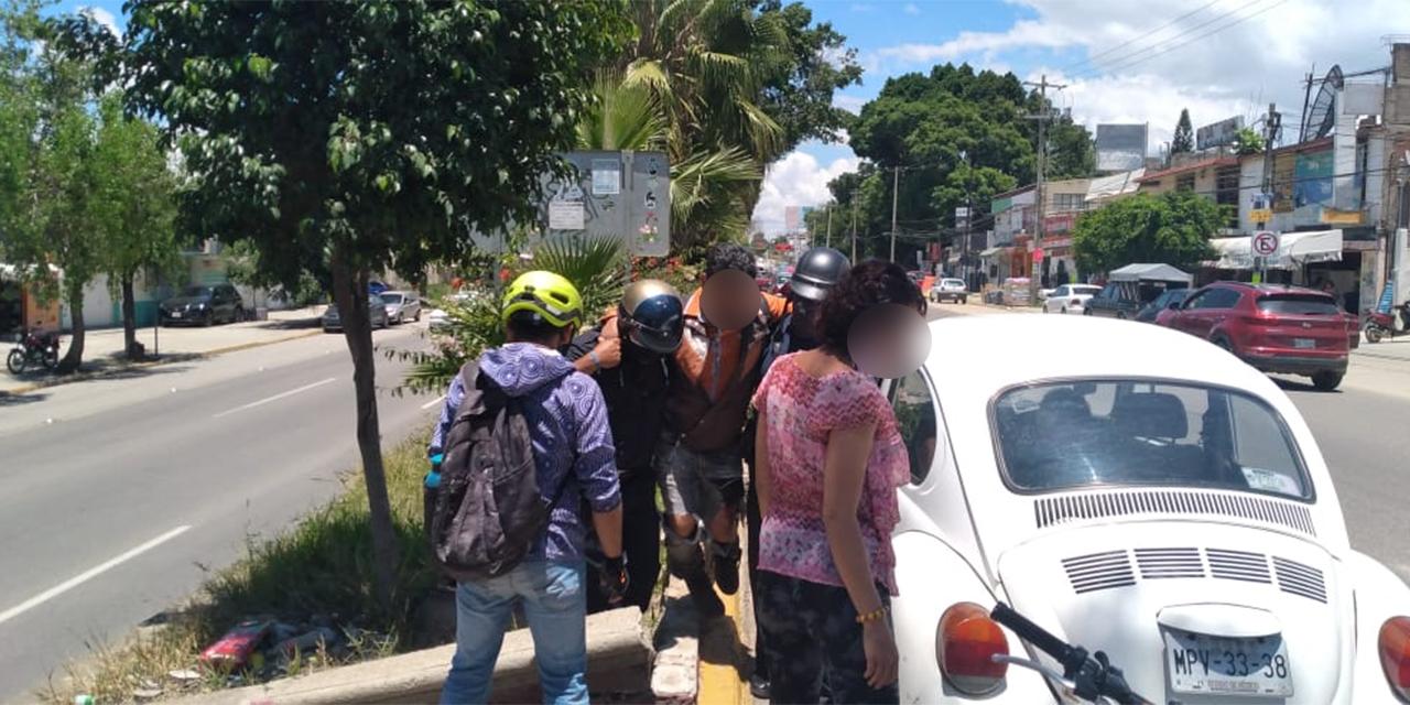 Peatón provoca accidente en Santa Rosa | El Imparcial de Oaxaca