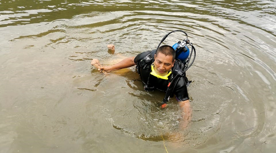 ¡Muere ahogado adolescente en presa de Huitzo!