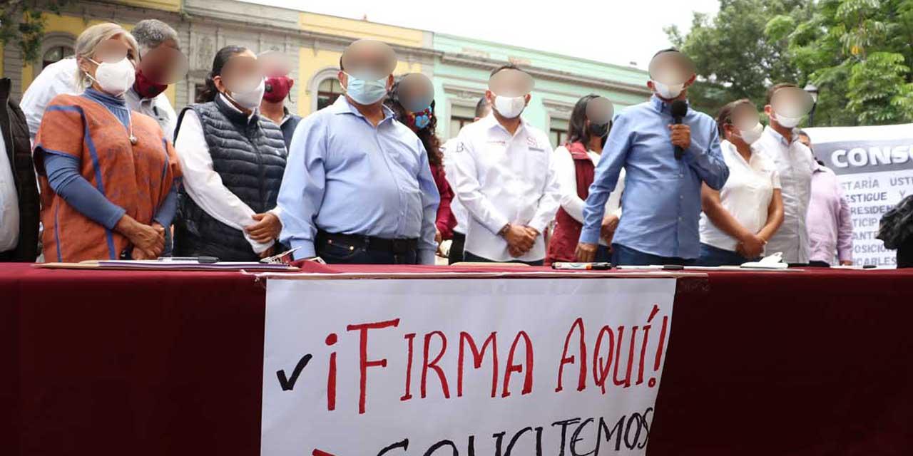 Morena niega uso político de consulta para juicio contra expresidentes | El Imparcial de Oaxaca