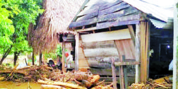 Reportan más de 3 mil casas afectadas por desbordamiento de Río Chiquito en Jocotepec