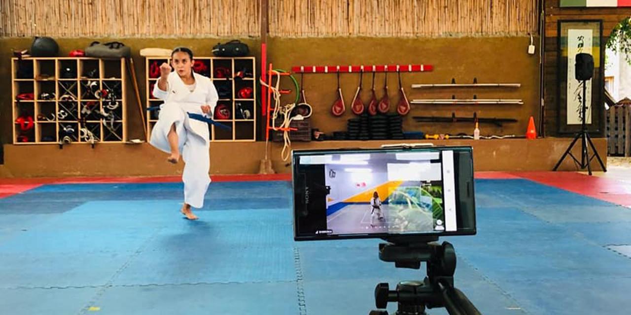 Daniela Leyva, karateca oaxaqueña, no descansa | El Imparcial de Oaxaca