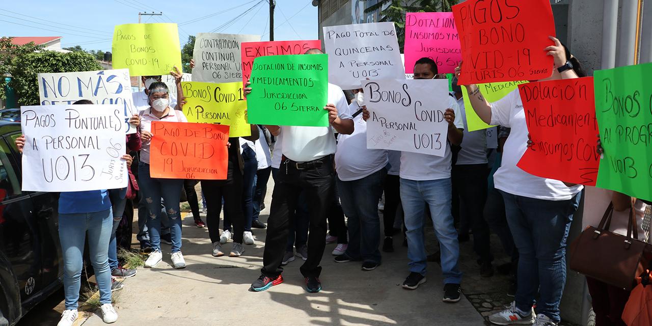 Trabajadores de salud protestan en Oaxaca   El Imparcial de Oaxaca