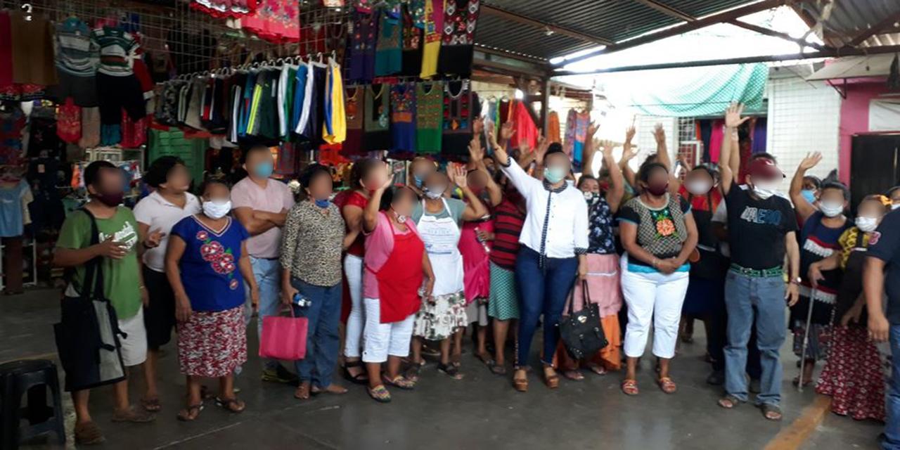 Locatarios juchitecos reeligen mesa directiva | El Imparcial de Oaxaca