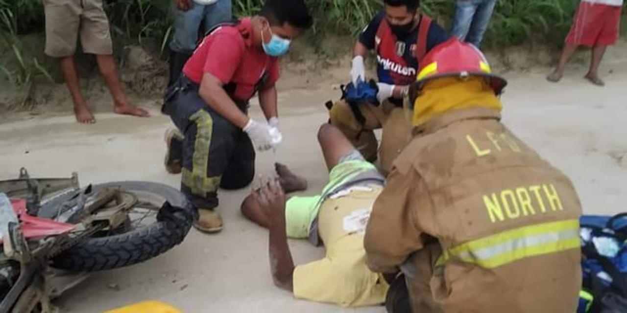 Motociclista se estrella contra una camioneta en Huatulco | El Imparcial de Oaxaca
