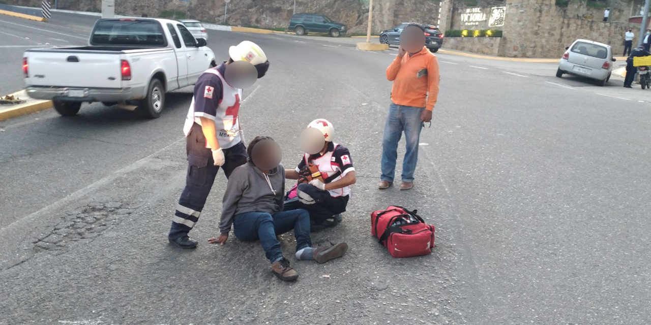 Desafortunado accidente en el Cerro del Fortín | El Imparcial de Oaxaca