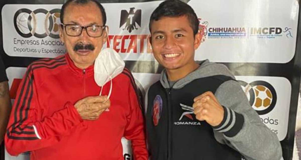 """Luis Fernando """"Nene"""" Robles listo para demostrar todo su poder en sus puños"""