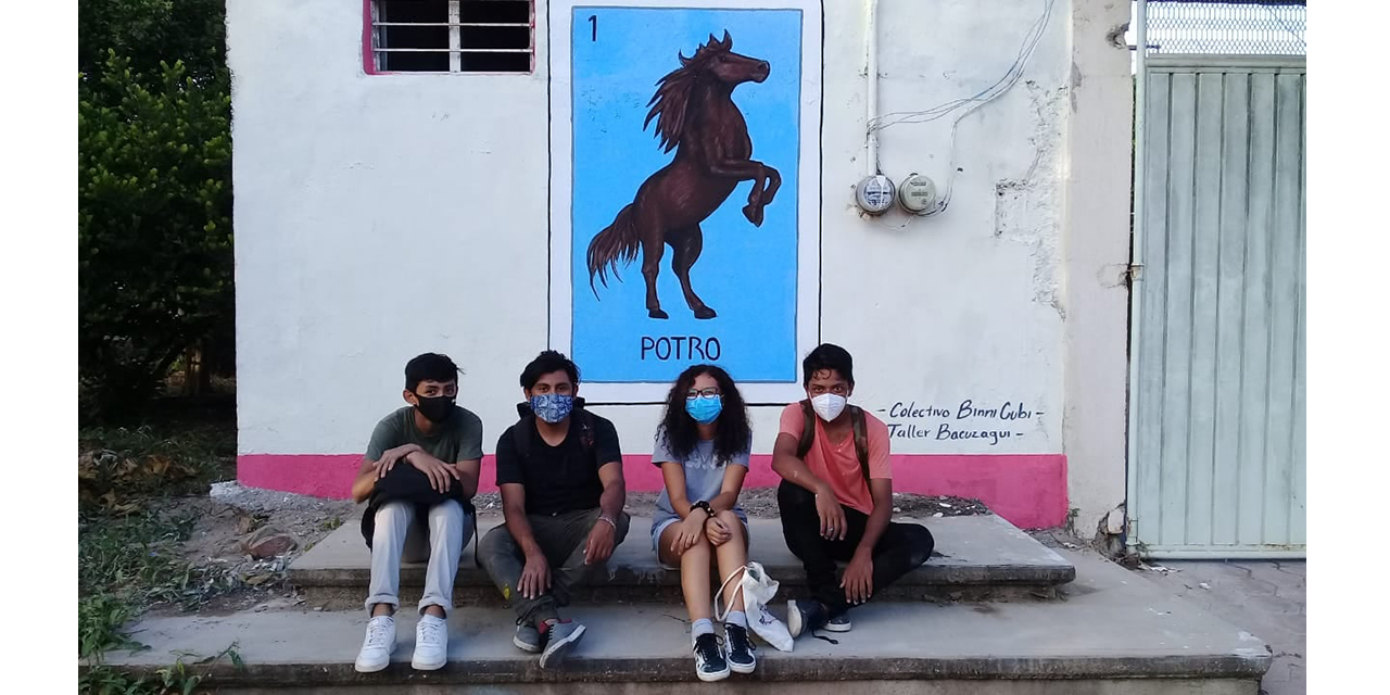Colectivo Binni Cubi inicia murales urbanos en Unión Hidalgo | El Imparcial de Oaxaca