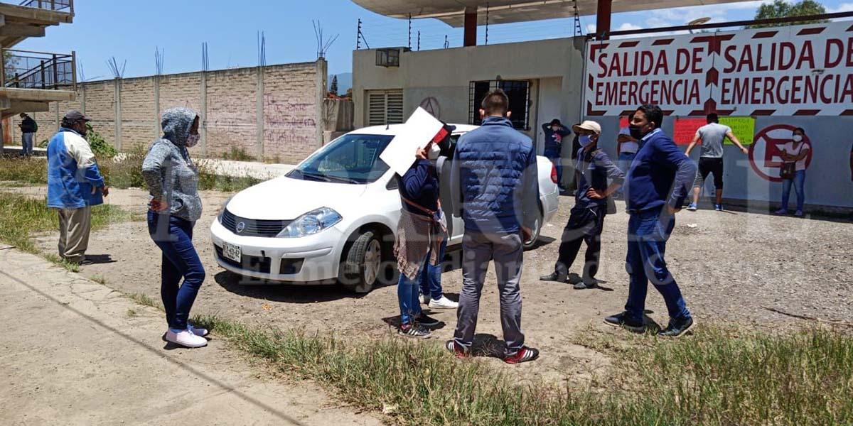 Pobladores de San Antonio de la Cal retienen a personal en Ciudad Administrativa | El Imparcial de Oaxaca