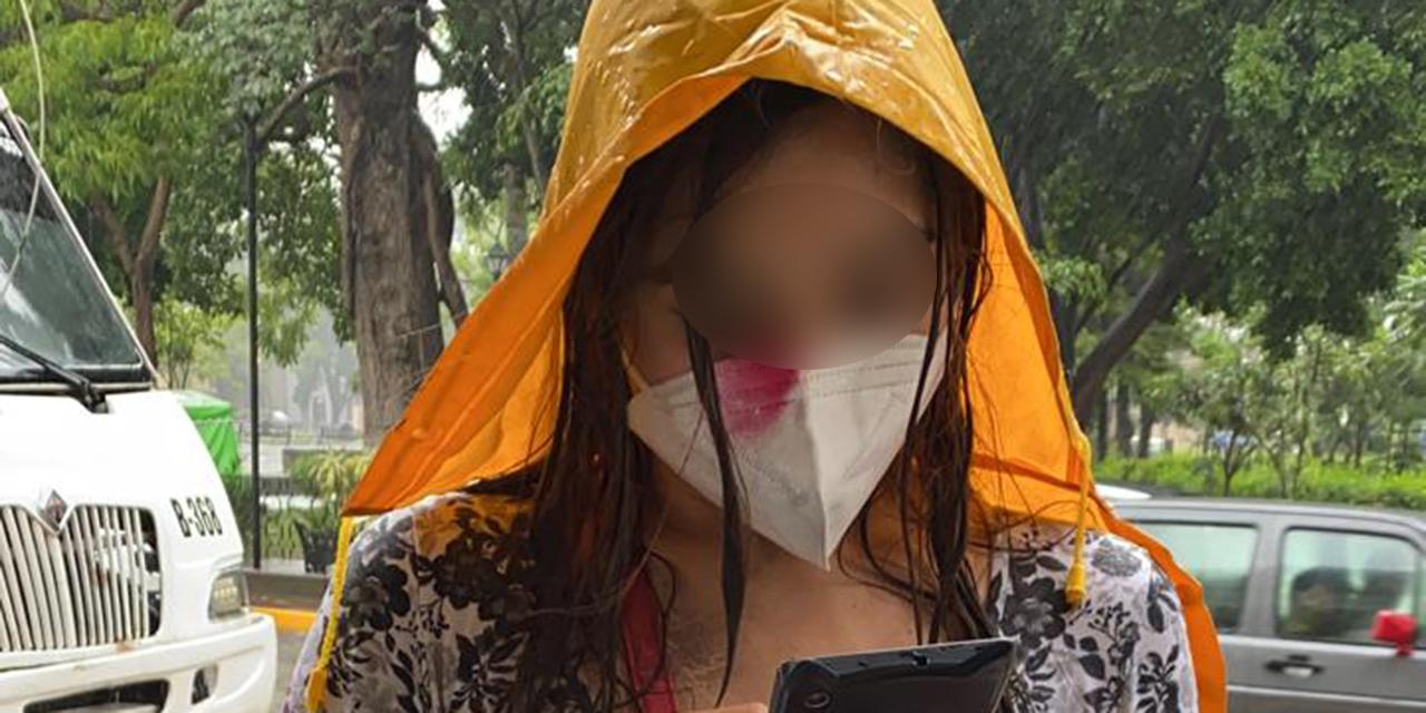 Agreden a reportera de El Imparcial en marcha feminista   El Imparcial de Oaxaca