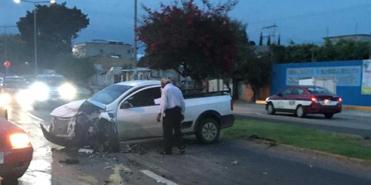 Choque en Ánimas Trujano deja cuatro lesionados | El Imparcial de Oaxaca