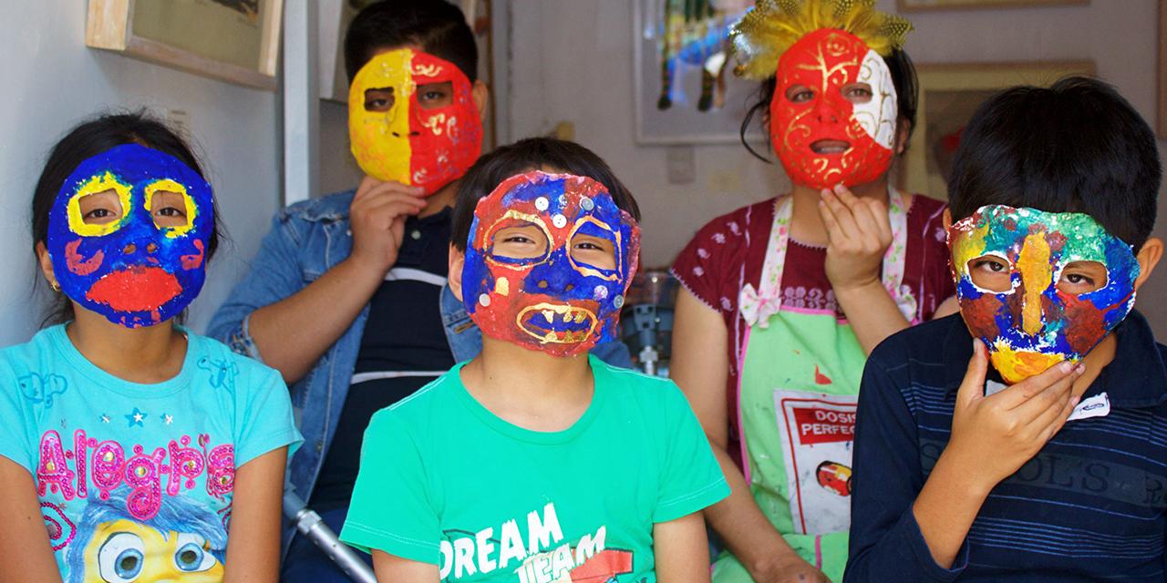 Casa Luna pinta un mejor horizonte para la infancia | El Imparcial de Oaxaca