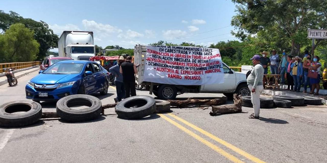 Bloqueos en el Istmo cumplen 24 horas | El Imparcial de Oaxaca