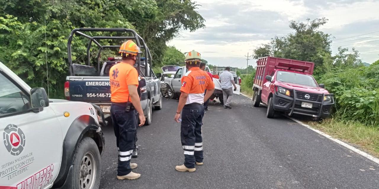 Trágico accidente en Río Grande | El Imparcial de Oaxaca