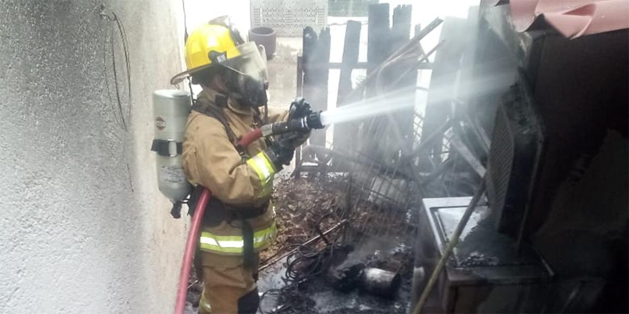 Flamazo en Ejido Guadalupe Victoria moviliza a bomberos | El Imparcial de Oaxaca