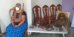 Resguardan busto del General Charis en Juchitán