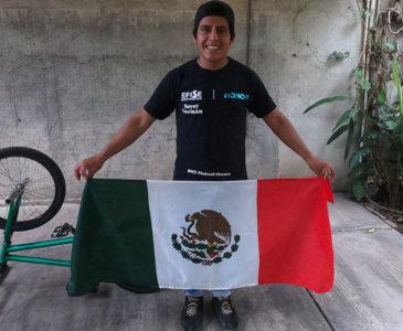 Oaxaqueño subcampeón mundial de BMX Freestyle FISE