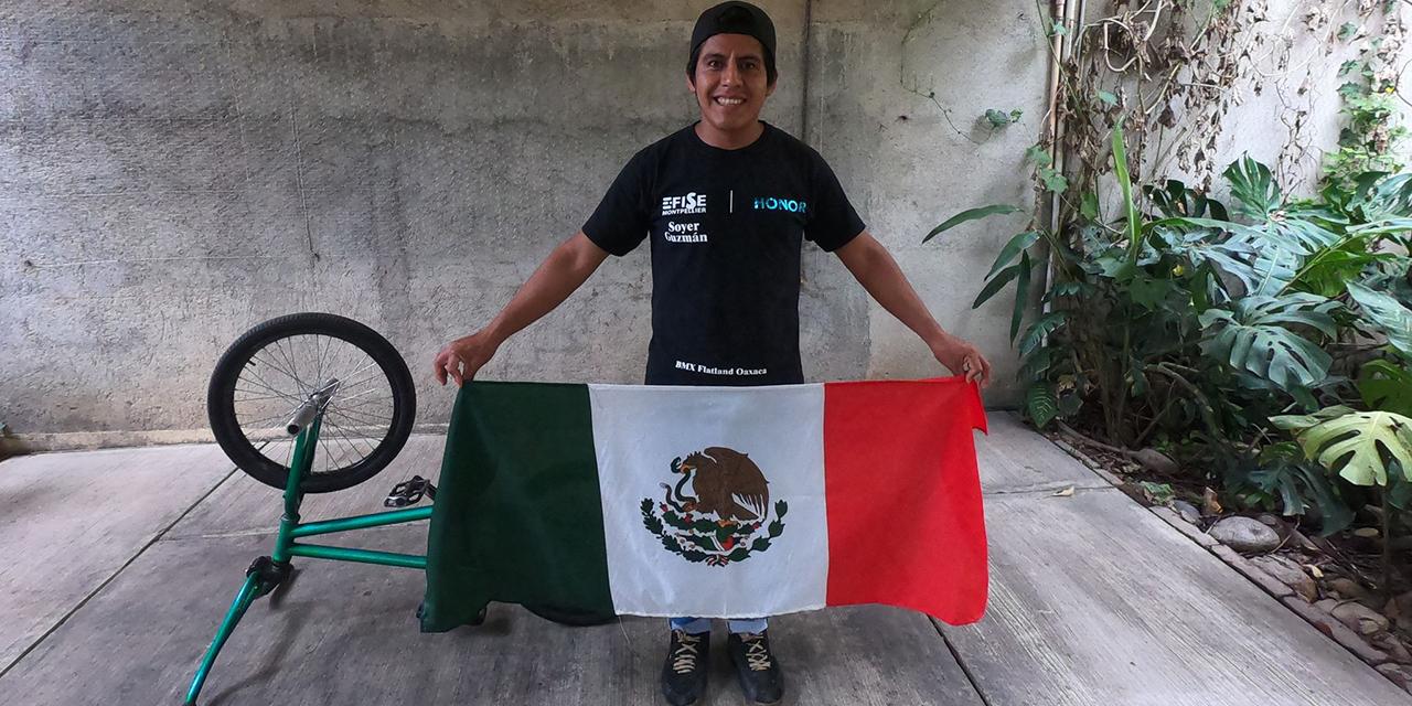 Oaxaqueño subcampeón mundial de BMX Freestyle FISE | El Imparcial de Oaxaca