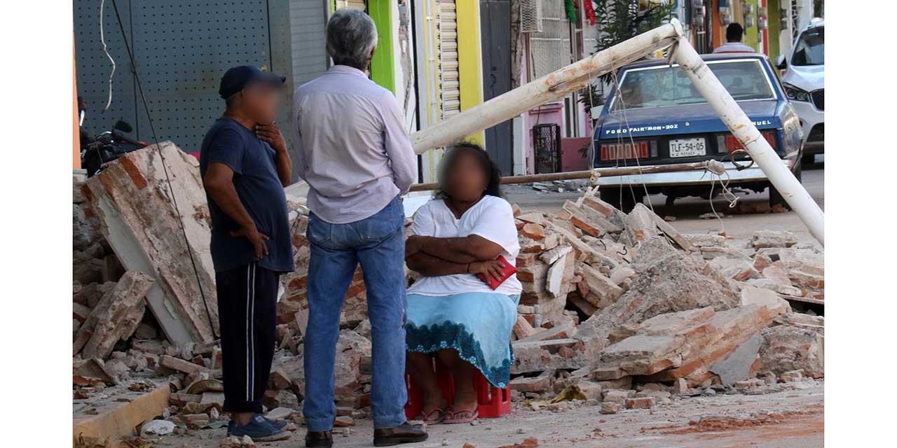 Aún hay damnificados del sismo de 2017 en el Istmo | El Imparcial de Oaxaca