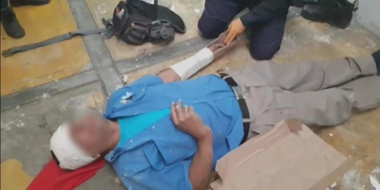 Hombre cae de un techo en Santa María del Marquesado   El Imparcial de Oaxaca