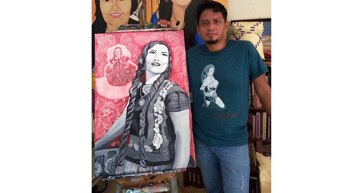 """Joven artista expone  """"La Piel del Istmo"""""""