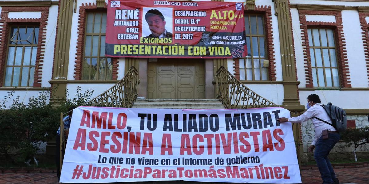 Con protesta, exigen a Fiscalía alto a la desaparición forzada en Oaxaca | El Imparcial de Oaxaca
