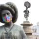 A través del arte concientizan sobre el uso de cubrebocas en Oaxaca