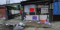 Protestan en DDHPO de Tuxtepec por desalojo en EdoMex