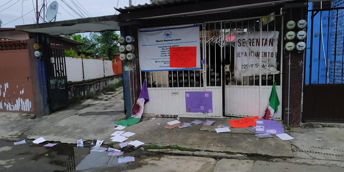 Protestan en DDHPO de Tuxtepec por desalojo en EdoMex | El Imparcial de Oaxaca