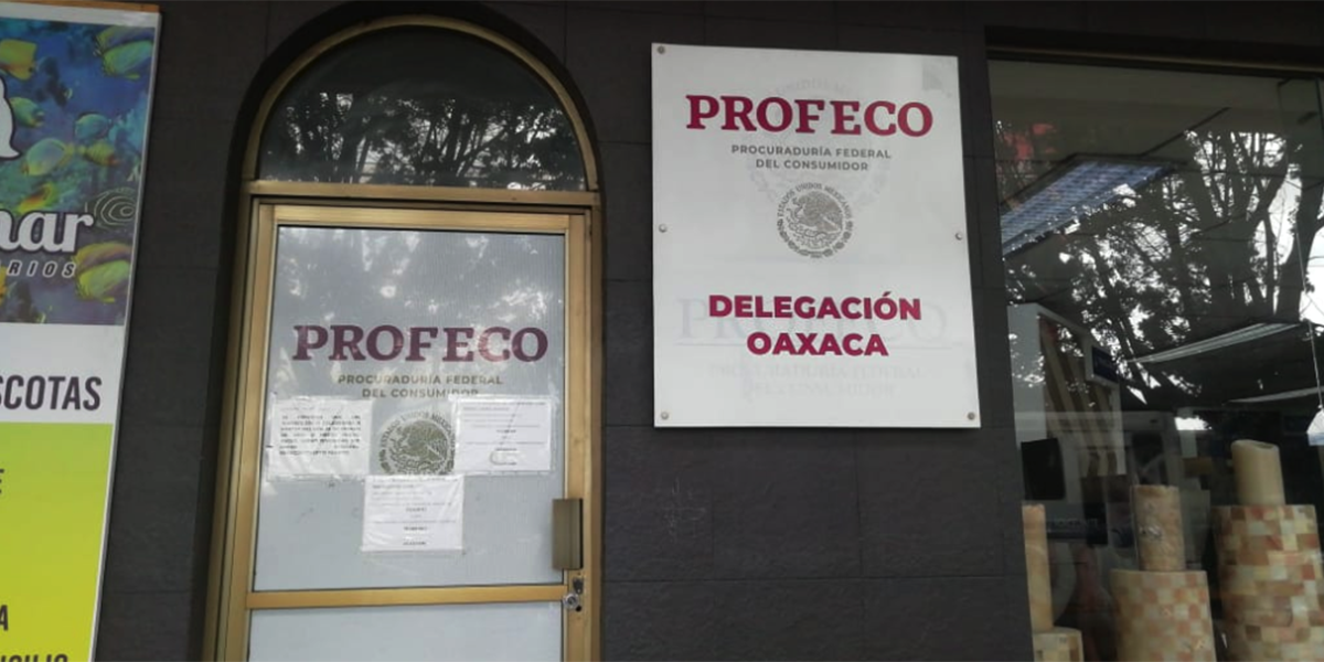 Por sanitización permanecen cerradas oficinas de la PROFECO | El Imparcial de Oaxaca