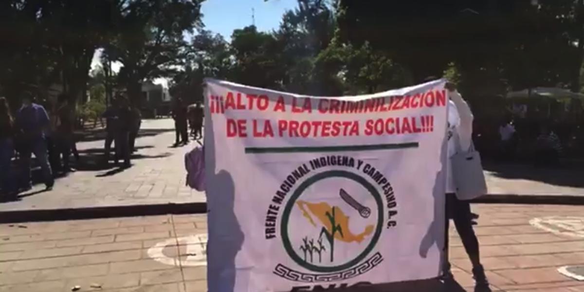 FNIC inicia marcha hacia el Zócalo de Oaxaca   El Imparcial de Oaxaca