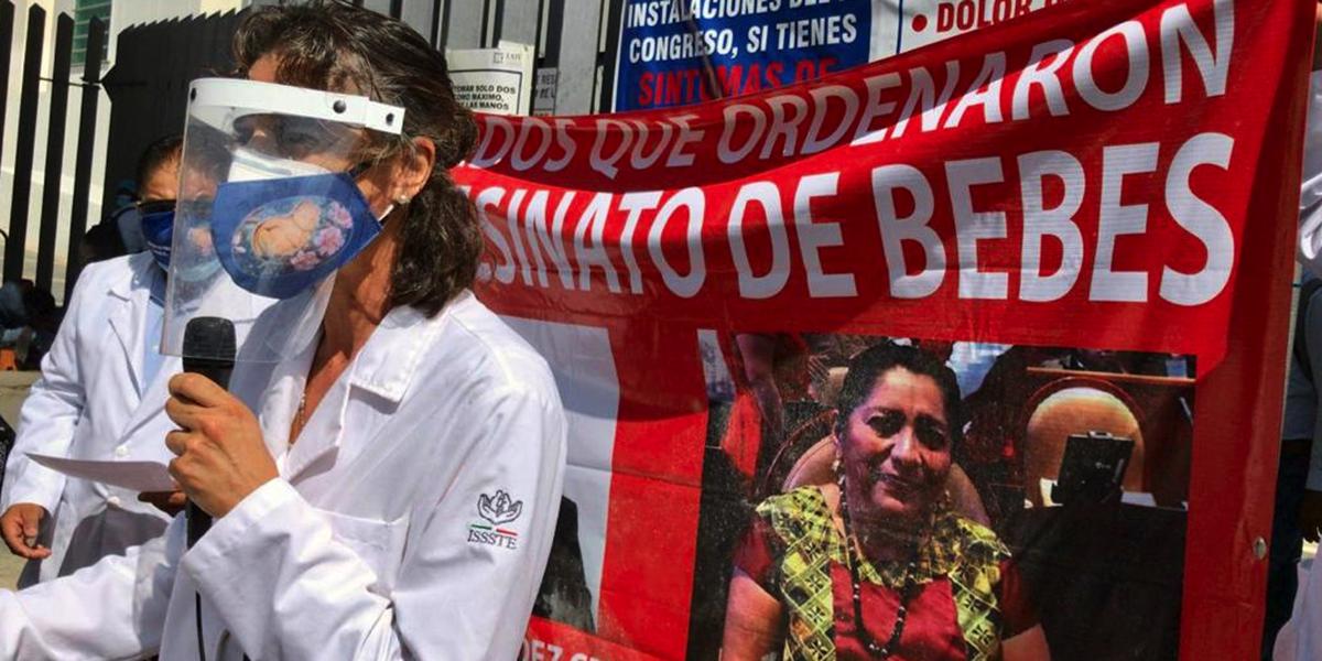 Se manifiestan en contra del aborto en Oaxaca   El Imparcial de Oaxaca